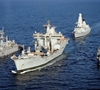 HMS Daring and Wave Knight operating East of Suez