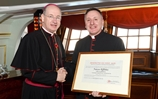 Pope Honours Royal Navy Chaplain