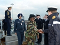 Defence attaches see how naval base supports ships