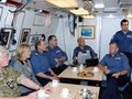 The Wessexes visit RN and RFA personnel in Bahrain