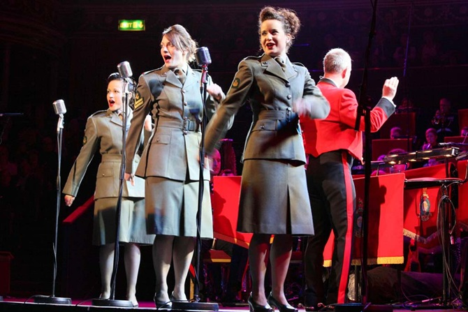 Military musicians entertain thousands at Albert Hall