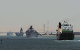 Cougar Task Group sails Suez Canal