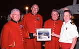 Chelsea Pensioners welcomed onboard Bahrain based HMS Atherstone
