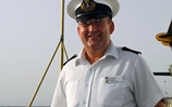 Retired senior naval rating receives MBE