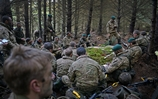 Would-be Royal Marines officers complete 15 months of training in Scottish forest