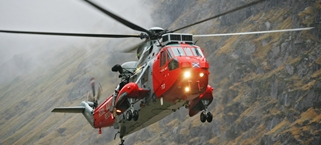 Gannet Sea King in Glen