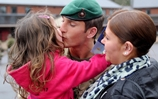 First of the last Royal Marines return early from Afghanistan