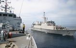 HMS Cattistock heads up multi-national mine exercise