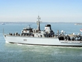 HMS Ledbury heads for the med