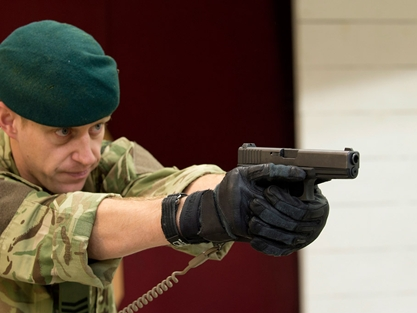 Navy and Royal Marines take aim with new pistols in 9m deal