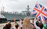HMS Argyll receives hero's welcome home from deployment