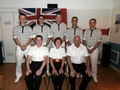 Gulf sailors and officers combine to celebrate the heroes of 1805