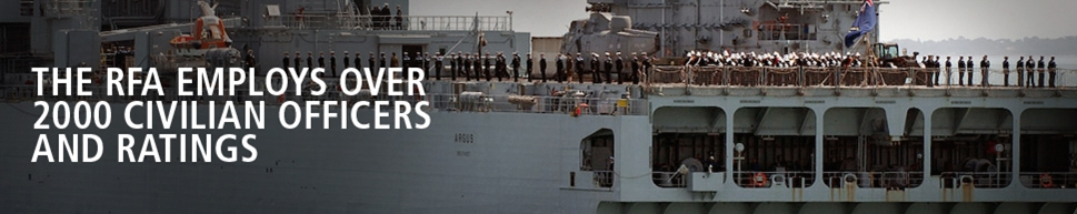 The RFA Employs Over 2,000 Civilian Officers and Ratings