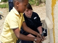 HMS Richmond undertakes community project in South Africa