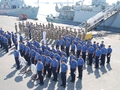 Bahrain based personnel attend Remembrance Service