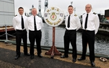 Medals Aplenty On HMS Iron Duke