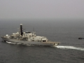 HMS Westminster 'ready for anything' as she resumes navy's fight against piracy