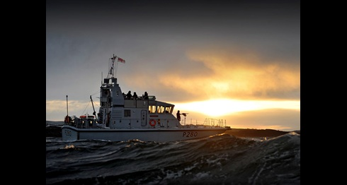 HMS Dasher to visit Padstow for Easter