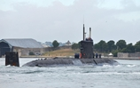 HMS Talent returns to South West