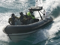 Royal Navy assists with sinking cargo ship