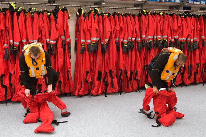 Falklands Veteran opens Sea Survival Centre