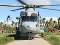 Lone Merlin proves vital in Illustrious' Philippines relief mission