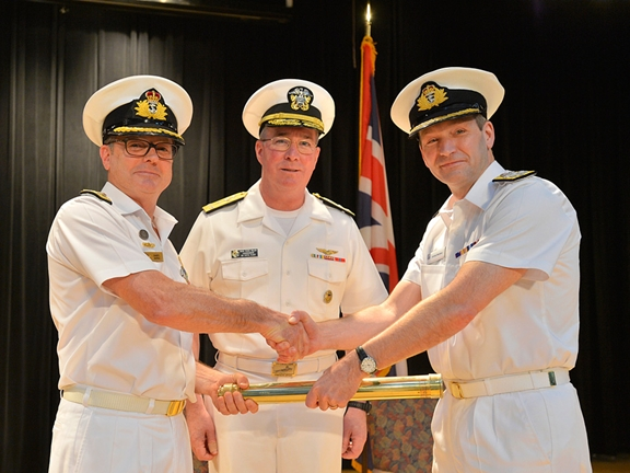 The UK assumes command of maritime security East of Suez