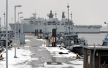 Ice refugee HMS Bulwark pays unexpected visit to the home of the German Navy