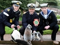 Crew of Britain's newest attack submarine adopt primate mascot