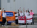 Royal Navy sailors beat warship to Plymouth
