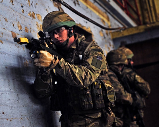 Royal Marines' X-men master the art of urban combat