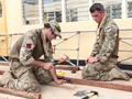 Royal Engineers provide vital skills in the Philippines
