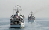 New team takes charge of Royal Navy's Gulf-based minehunter force