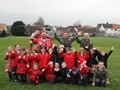Royal Navy Sea King helicopter from HMS Gannet welcomed at Ayrshire primary schools