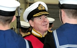 First Sea Lord Bids Farewell To Raleigh