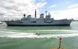 HMS Illustrious sails for annual Cougar deployment