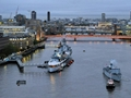 HMS Middleton visits London