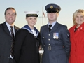 Hannah joins the Navy following family tradition