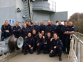 Dutch sailors train at HMS Raleigh