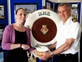 A Royal Naval bake off in supportof childhood eye cancer trust