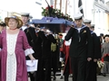Trainee submariners take part in May Day procession