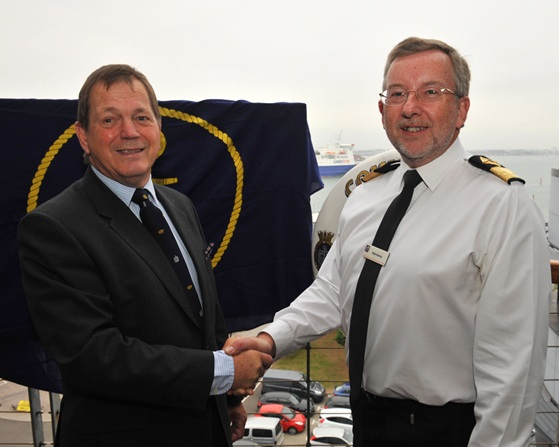 New Commodore Royal Fleet Auxiliary and Assistant Chief of Staff Afloat Support