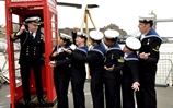 BT Iconic Red Kiosk Sets Sail on HMS Westminster