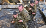 Elite Commandos Train Olympic Rowers