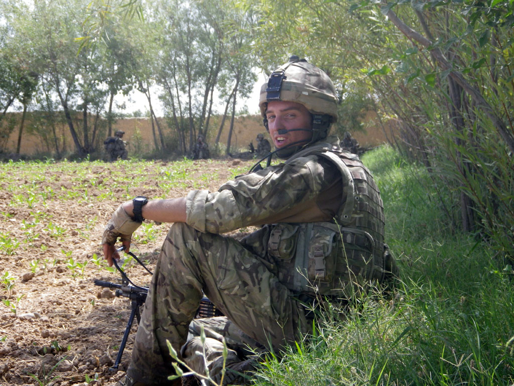 Royal Marine Mark Williams