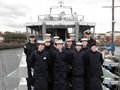Sea Cadets from TS Dauntless visit HMS Example