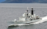 End Of An Era As HMS Edinburgh Returns From Atlantic Deployment