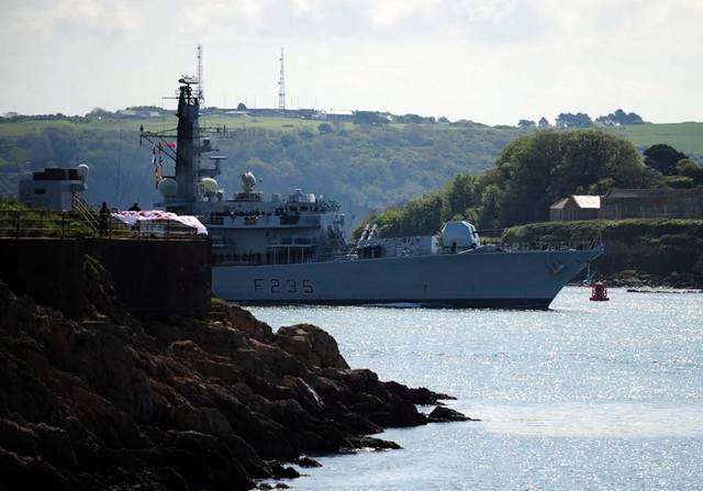 HMS Monmouth homecoming