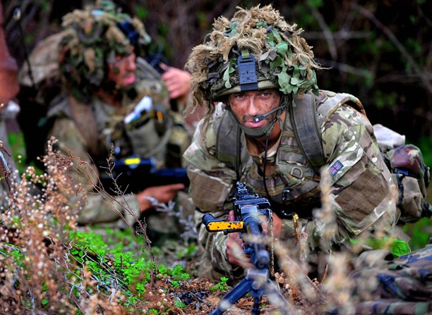 Royal Marines Storm Former Cold War Base