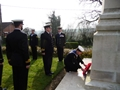 Culdrose sailors 'humbled' by visit to Navy's Great War battlefields